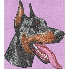 Stickmotiv: Dobermann 1