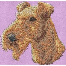 Stickmotiv: Irish Terrier 1