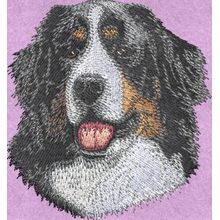 Stickmotiv: Bernese Mountain Hund 1