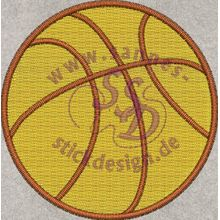 Stickmotiv: Basketball